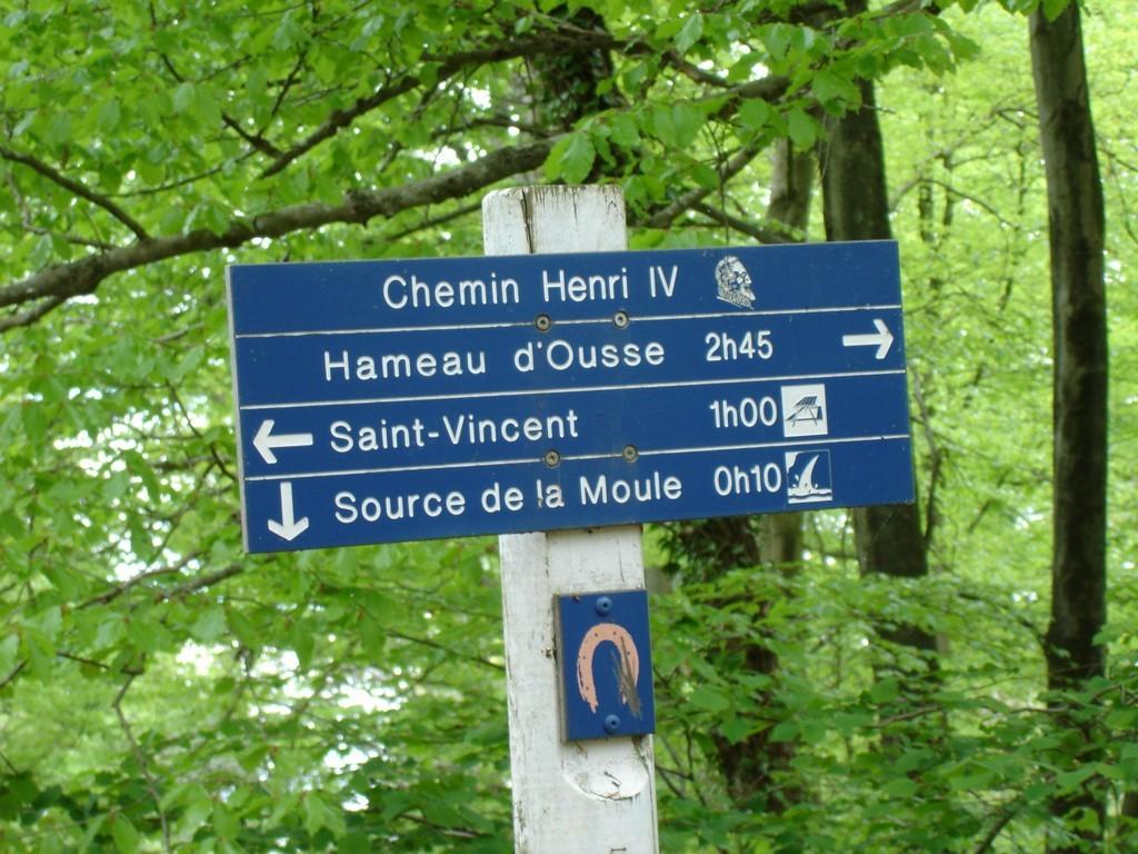 Chemin Henri IV